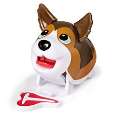 Chubby Puppies Collie Waddles and Hops in His Own Way with Tbone Steak Chew Toy *** You can get extra details at the picture web link. (This is an affiliate link). Funny Walk, Chubby Puppies, Big Stuffed Animal, Little Live Pets, Rough Collie, All Toys, Kids Store, Telescope, Mini Things