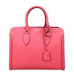 SALE ALERT:  McQUEEN Pink Leather Tote Bag
