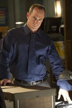 Christopher Meloni in Law & Order: Special Victims Unit~~~ Elliot Stabler