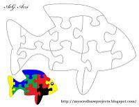 puzzle fish free pattern