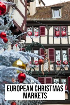 Don't forget these epic Christmas Markets in Europe Best European Christmas Markets, Christmas Markets Europe, Christmas Travel, Holiday Travel, Europe Travel Guide, Budget Travel, Travel Ideas, Travel Destinations, Places In Europe