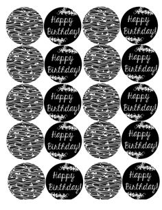 Happy Birthday Cupcake Toppers Free Printable Free