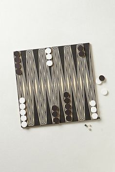 Handcrafted Backgammon Set        #anthropologie      I use to play this with my mom....and I use to watch my parents play this game.