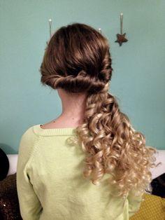 #hairstyle #longhair