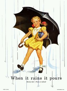 Morton Salt girl '50