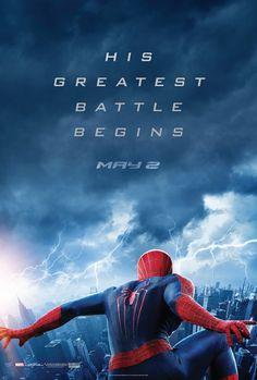 """Novo cartaz do filme """"O Espetacular Homem-Aranha 2: A Ameaça de Electro"""" http://cinemabh.com/imagens/novo-cartaz-do-filme-o-espetacular-homem-aranha-2-a-ameaca-de-electro"""
