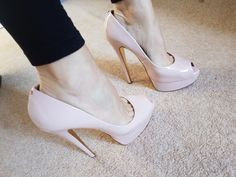 b80f24f95d3 Ted Baker nude colour heels. Second hand for £30. Click for more or