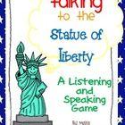 Statue of Liberty Speaking and Listening Game Social Studies Lesson Plans, Social Studies Classroom, Social Studies Activities, Classroom Tools, Learning Activities, Listening Games, Text Complexity, Listen And Speak, Social Thinking