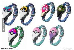Custom Pokemon GO plus! Awesome!