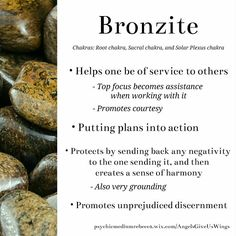 Bronzite crystal meaning