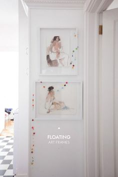 How to Make Floating Art Frames