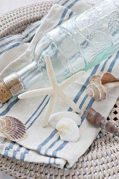 summer styling / shells & bottle