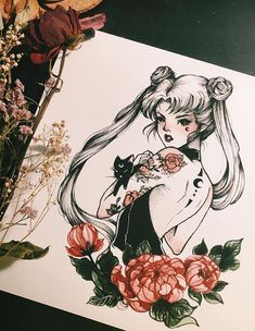 snootyfoxfashion: Sailor Moon Fan Art byPeiTheDragonx / x / x. snootyfoxfashion: Sailor Moon Fan Art byPeiTheDragon x / x / x / x x / x / x / x Sailor Moon Tattoos, Sailor Moons, Arte Sailor Moon, Sailor Moon Fan Art, Sailor Uranus, Tattoo Moon, Tattoo Samurai, Art Sketches, Art Drawings