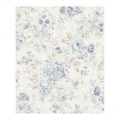 Tapeta winylowa na flizelinie kwiat 516012 10 m niebieska