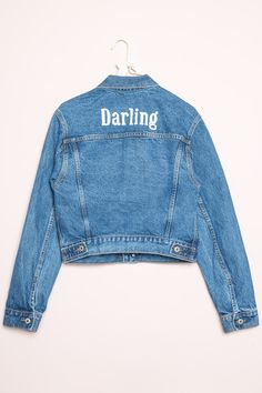 Brandy ♥ Melville | Jackson Darling Denim Jacket - Clothing