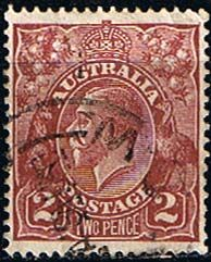Australia 1926 SG 98 King George V Head Fine Used                    SG 98 Scott 70       Condition Fine Used    Only one post charge applied on