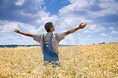 """On the eighth day God made a farmer...  """"God Made a Farmer"""" that will tug at your heartstrings. May God bless all our farmers! Video clip"""