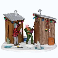 Coventry Cove by Lemax Christmas Village Table Accent  Friendly Competition
