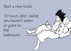 Starting a new book…this is what I did when I was introduced to Mr. Grey. :)