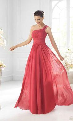 Long Evening Red Dress
