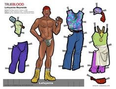 Do you wanna play True Blood?   Well, Camp Blood and Andy Swist have made a bunch of paper dolls based on the characters from the show. See more at Bite Daily.