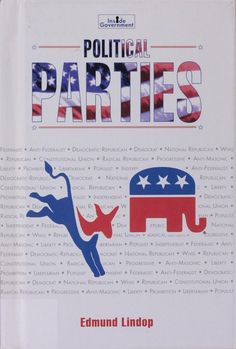 """Political Parties. By Edmund Lindop (1997). For ages 10 and up. """"Provides a history of political parties in the United States, along with insights about their inner workings and the role they play in the political process."""" (Website)"""