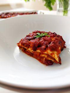 Lasagnes d'enchiladas vegan