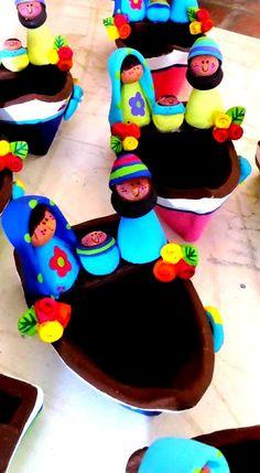 Nuestra artesanía de arcilla elaborada con amor por mujeres artesanas de Venezuela. Isla de Margarita