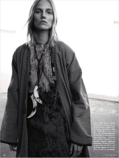 Suvi Koponen for Vogue Germany #monoymono #fashioneditorial