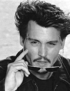 Johnny Depp News added 88 new photos to the album: ♥ JD Photo of the Day ♥. John Depp, Here's Johnny, The Lone Ranger, Hollywood, Captain Jack, Best Actor, American Actors, Portrait, Perfect Man