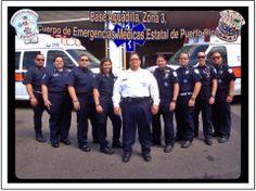 FOTOGRAFÍA CON TU UNIDAD O EQUIPO Nuestro compañero Benjamín Rosario Torres, del Cuerpo de Emergencias Médicas Estatal de Puerto Rico, Zona 3, Aguadilla, nos muestra hoy 2 imágenes: En la 1ª lo vemos con sus compañeros de la base, y en la 2ª está mostrándonos detalles de la uniformidad. Enviarnos vuestras imágenes, todas las que queráis, por mensaje a nuestra página, o por e-mail a: correoambulanciasyemergencias@gmail.com