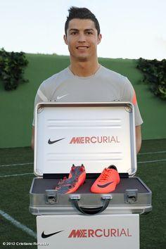 Cristiano Ronaldo's new Mercurial Vapor 8