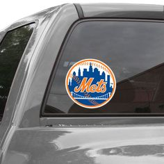 """WinCraft New York Mets 8"""" x 8"""" Color Team Logo Car Decal"""