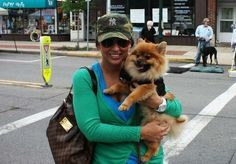 """Dozens of dogs walked in a parade at the """"Sewickley Unleashed"""" event benefiting Animal Friends."""