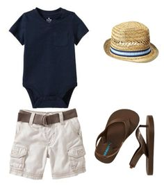 """Baby Boy Fashion!"" by jazminmarie ❤ liked on Polyvore featuring Old Navy"