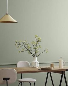 Comfy pastel dining room design ideas 00024 ~ Home Decoration Inspiration Room Interior Design, Dining Room Design, Green Dining Room, Design Room, Dining Rooms, Design Design, Design Trends, Design Ideas, Scandinavian Interior