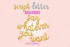 Check out our bridal shower balloon selection for the very best in unique or custom, handmade pieces from our shops. Balloon Banner, Banner Backdrop, Letter Balloons, Confetti Balloons, Script Lettering, Block Lettering, Qualatex Balloons, Bridal Shower Balloons, Summer Wedding Decorations