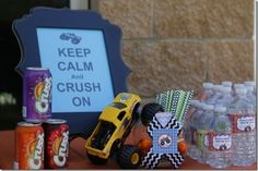 Monster Truck Birthday Party Ideas | Photo 6 of 29 | Catch My Party