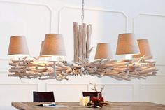 Invicta Interior Lampa Wisząca Euphoria I Branch Chandelier, Lampe Decoration, Felicia, Lamp Design, Light Fixtures, Living Room Decor, House Design, Ceiling Lights, Interior