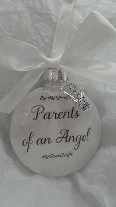 Glass Memorial Ornament Infant Child Loss Miscarriage Keepsake Cemetery Decor for sale online In Memory Christmas Ornaments, Memorial Ornaments, Baby Ornaments, Memorial Gifts, Christmas Balls, Handmade Christmas, Christmas Crafts, Christmas Decorations, Memorial Messages