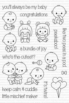 Clearly Besotted Peek-a-Boo Clear Stamp Set ~ $14.99 at simonsaysstamp.com