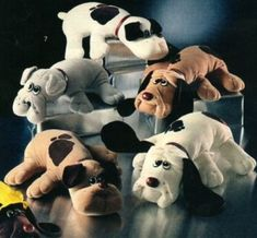 Pound Puppies!!!! I had to save them all but I didn't like pound kitties. They could die.