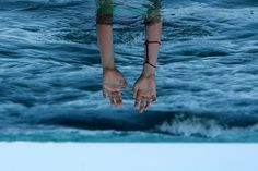 """""""day 118"""" by , via Flickr. #taylorr #photography #hands #arms #ocean #water #sea #upside_down"""