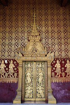 Temple Decoration #Laos