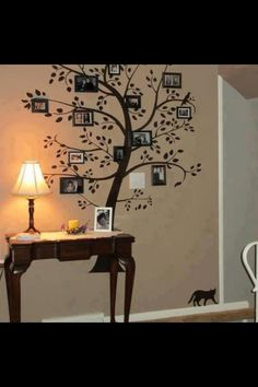 Love this wall decor idea!