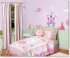 Princess Themed wall stencils