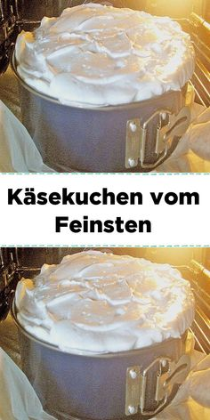 Zutaten 200 g Mehl 325 g Zucker 75 g Butter 4 Ei(er) 1 TL Backpulver etwas Salz… Ingredients 200 g flour 325 g sugar 75 g butter 4 egg (s) 1 tsp baking powder a little salt fat, for the form 1 kg lean quark 1 ½ … Quick Dessert Recipes, No Dairy Recipes, Easy Cake Recipes, Fun Desserts, Kenwood Cooking, Vegan Ice Cream, Salad Ingredients, Dairy List, Sweet And Salty