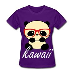 Five of my favorite things! 1) Pandas 2) Hawaii 3) Purple 4) T-Shirts 5) Glasses!
