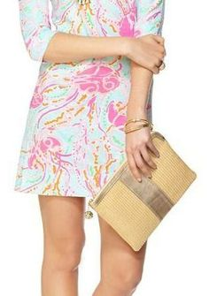 Lilly Pulitzer Southside Clutch