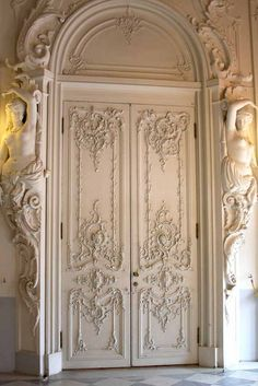 Opulent interior doors in the Catherine Palace, St. Petersburg. photo by Morgan Thomas, 2012
